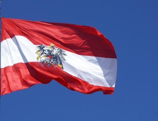 Flagge Österreichs