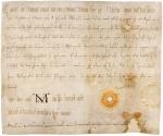 Schenkungsurkunde vom 1. November 996