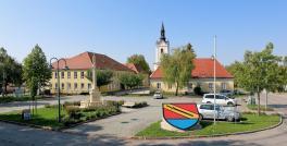 Ortszentrum von Neudorf bei Staatz